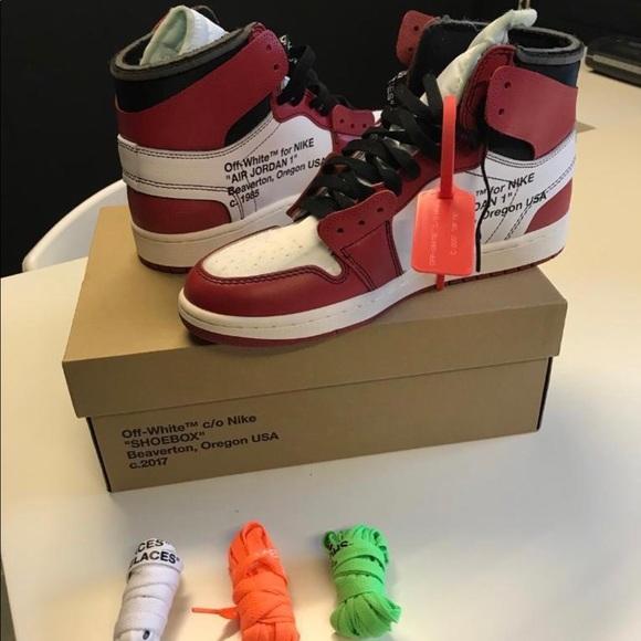 87a2242f317 Off White Jordan Red 10.5